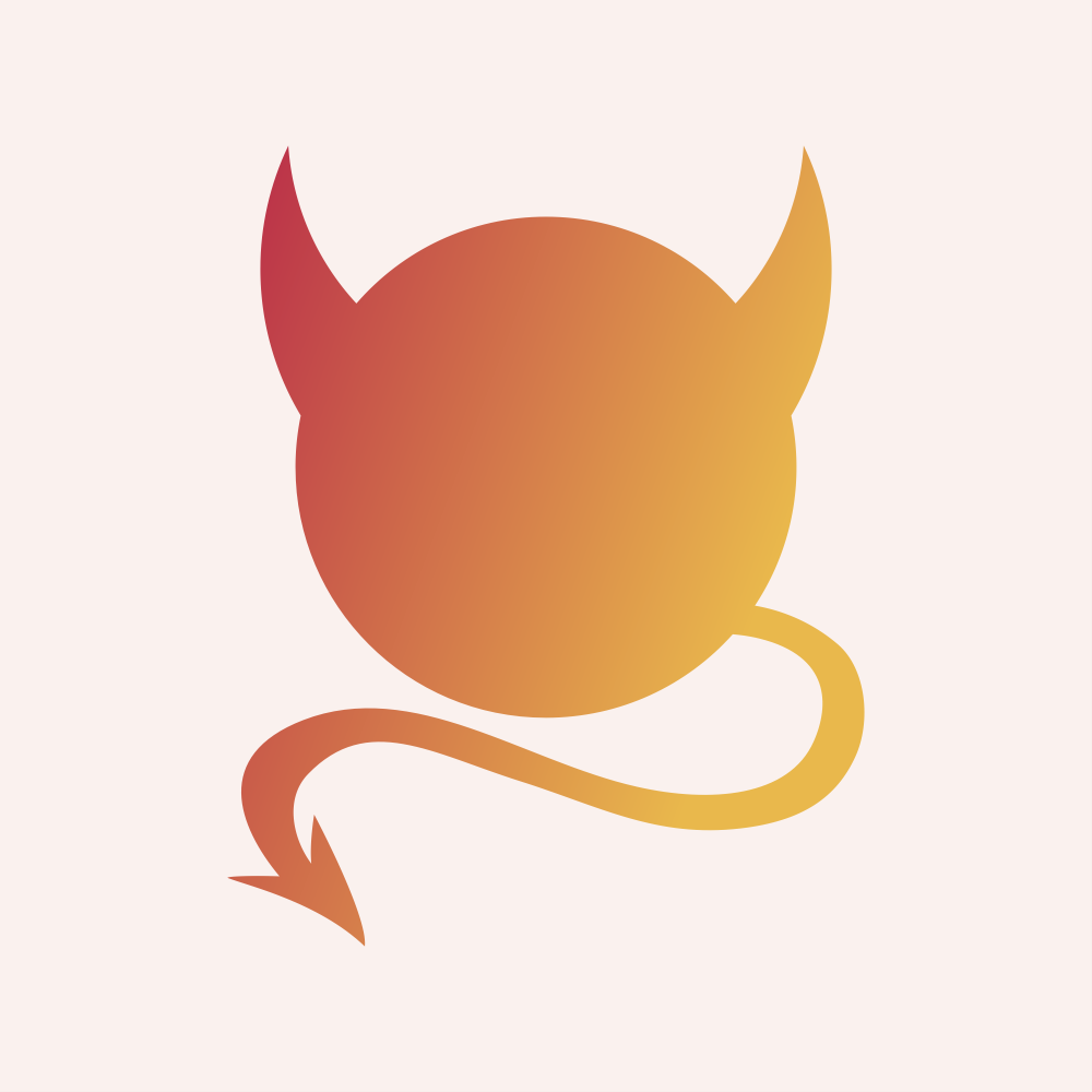 horns and tail icon